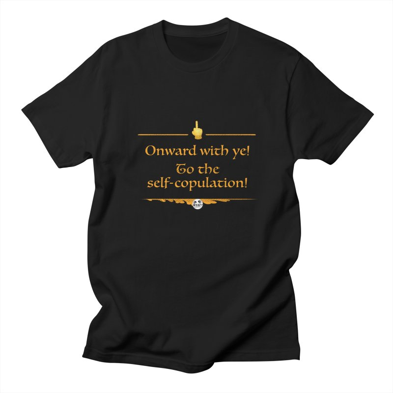 Self-copulation Men's T-Shirt by WTAFGear's Artist Shop