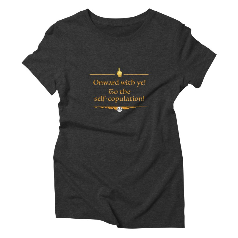 Self-copulation Women's Triblend T-Shirt by WTAFGear's Artist Shop