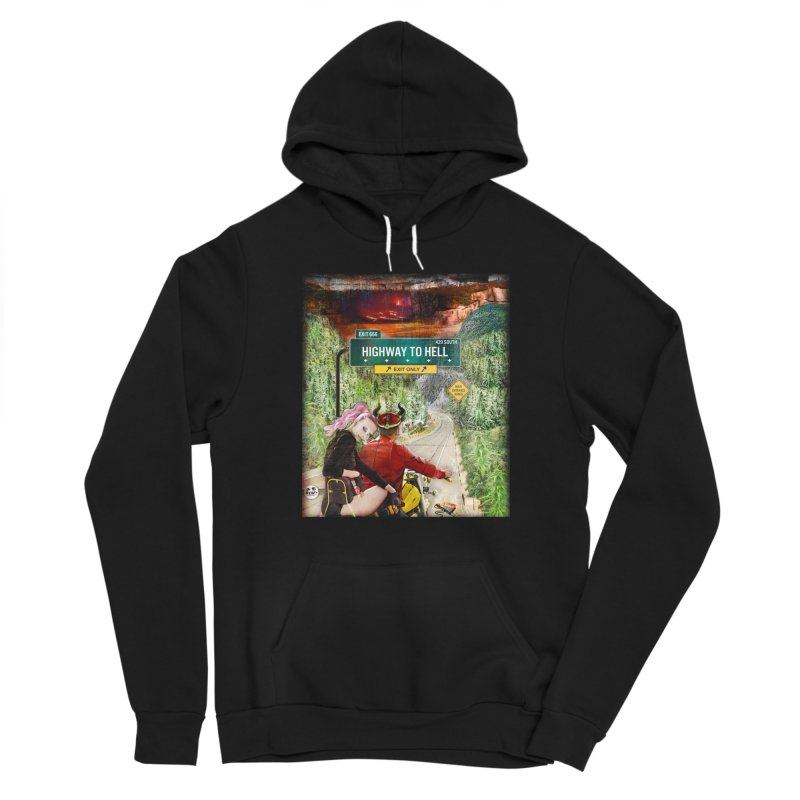 Highway to HELL Women's Pullover Hoody by WTAFGear's Artist Shop