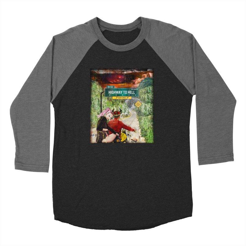 Highway to HELL Women's Longsleeve T-Shirt by WTAFGear's Artist Shop