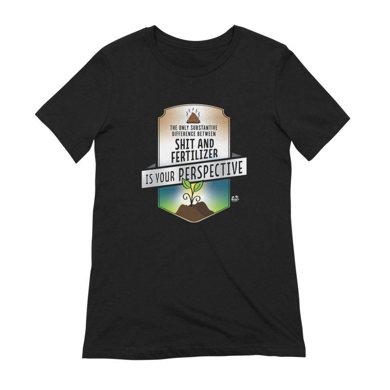 Shit and Fertilizer Women's Extra Soft T-Shirt by WTAFGear's Artist Shop