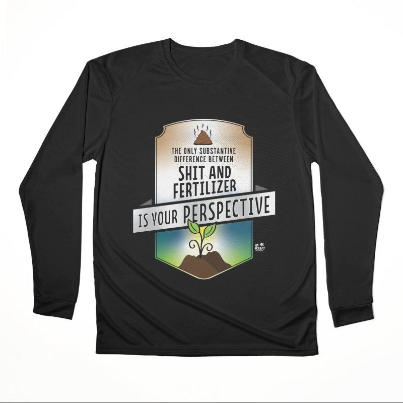 Shit and Fertilizer Women's Longsleeve T-Shirt by WTAFGear's Artist Shop