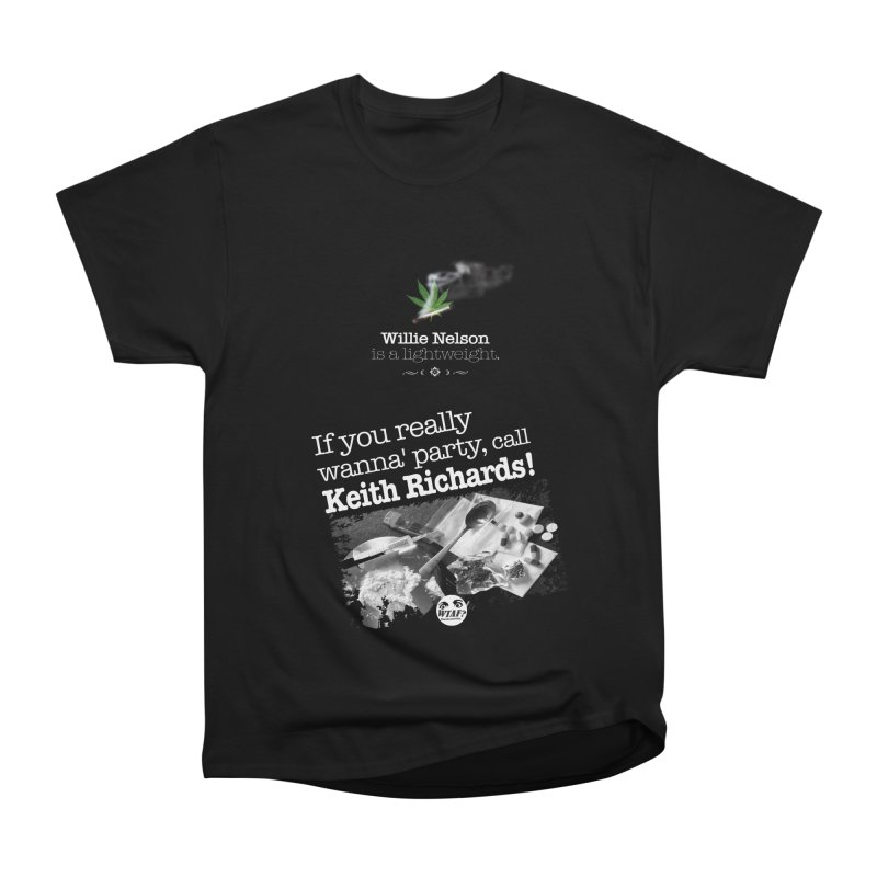 Call Keith Richards Men's T-Shirt by WTAFGear's Artist Shop
