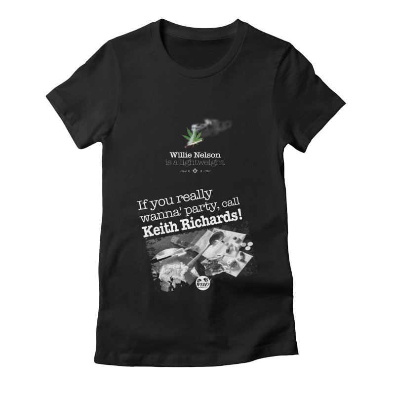 Call Keith Richards Women's T-Shirt by WTAFGear's Artist Shop