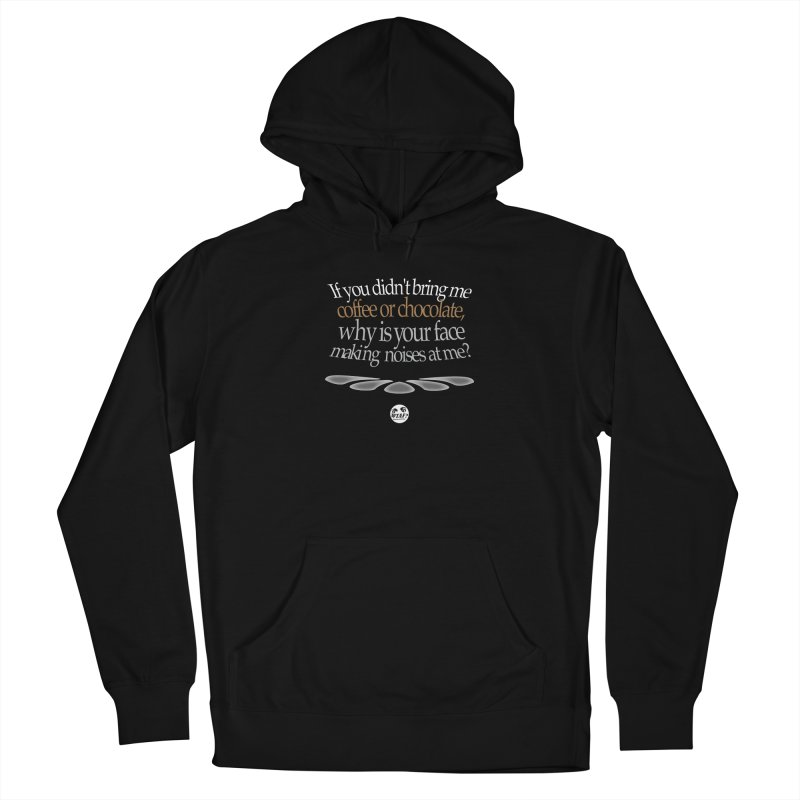 Why is your face making noise? Men's Pullover Hoody by WTAFGear's Artist Shop
