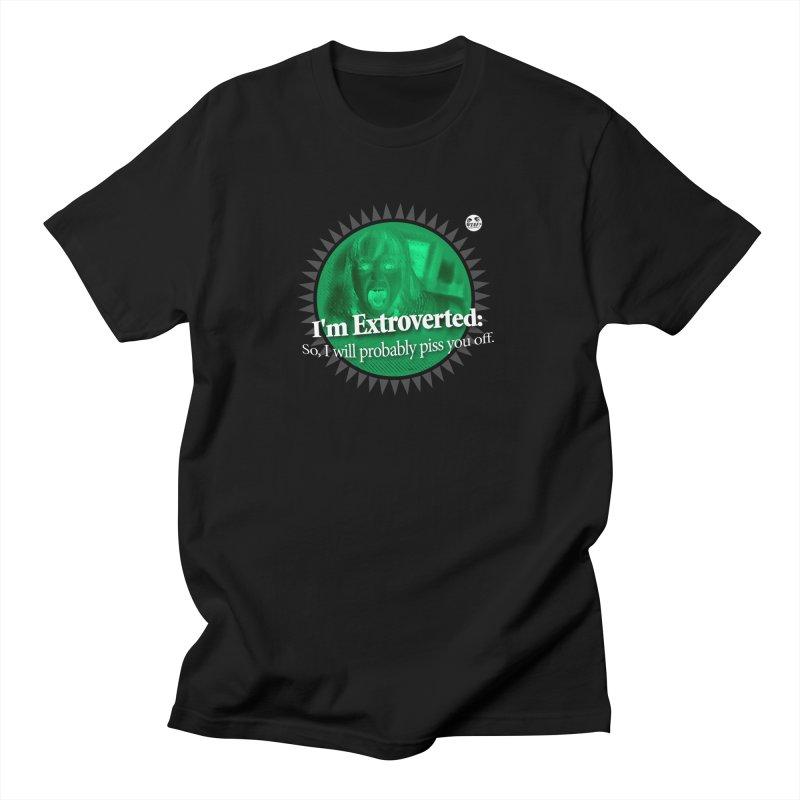 Extrovert Men's T-Shirt by WTAFGear's Artist Shop