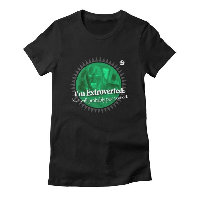 Extrovert Women's T-Shirt by WTAFGear's Artist Shop