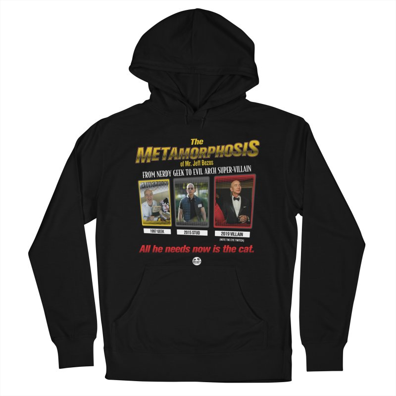 Evil Geek Men's French Terry Pullover Hoody by WTAFGear's Artist Shop