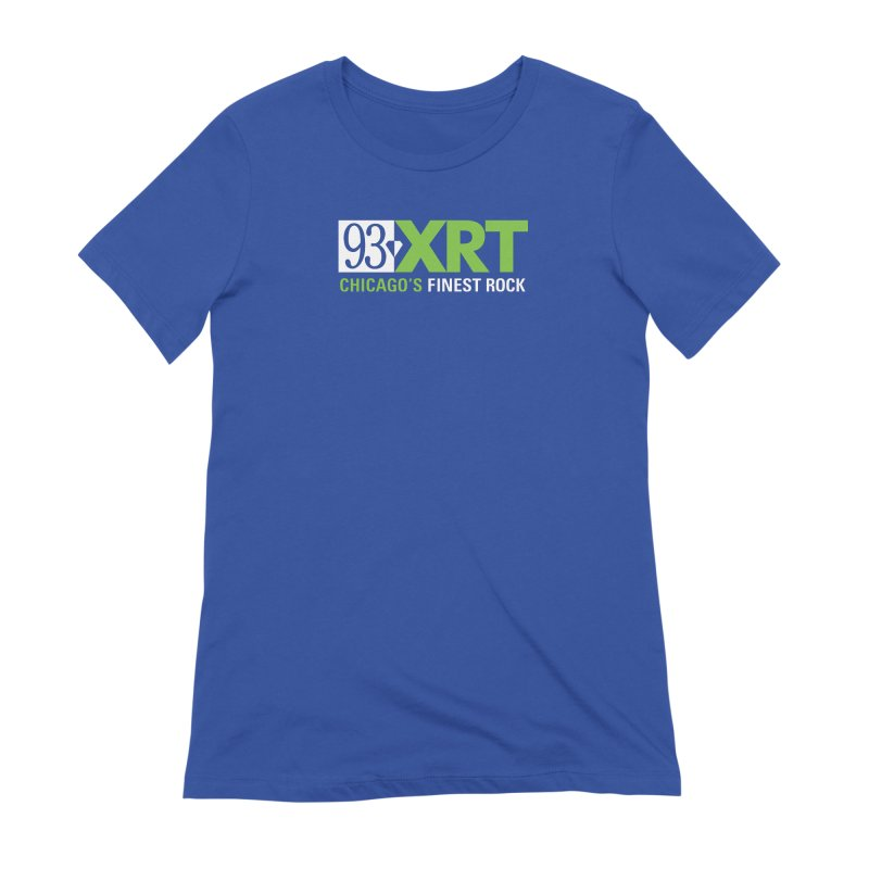 Chicago's Finest Rock Women's Extra Soft T-Shirt by 93XRT