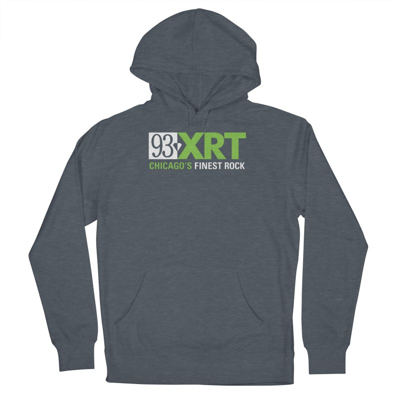 Chicago's Finest Rock Women's French Terry Pullover Hoody by 93XRT