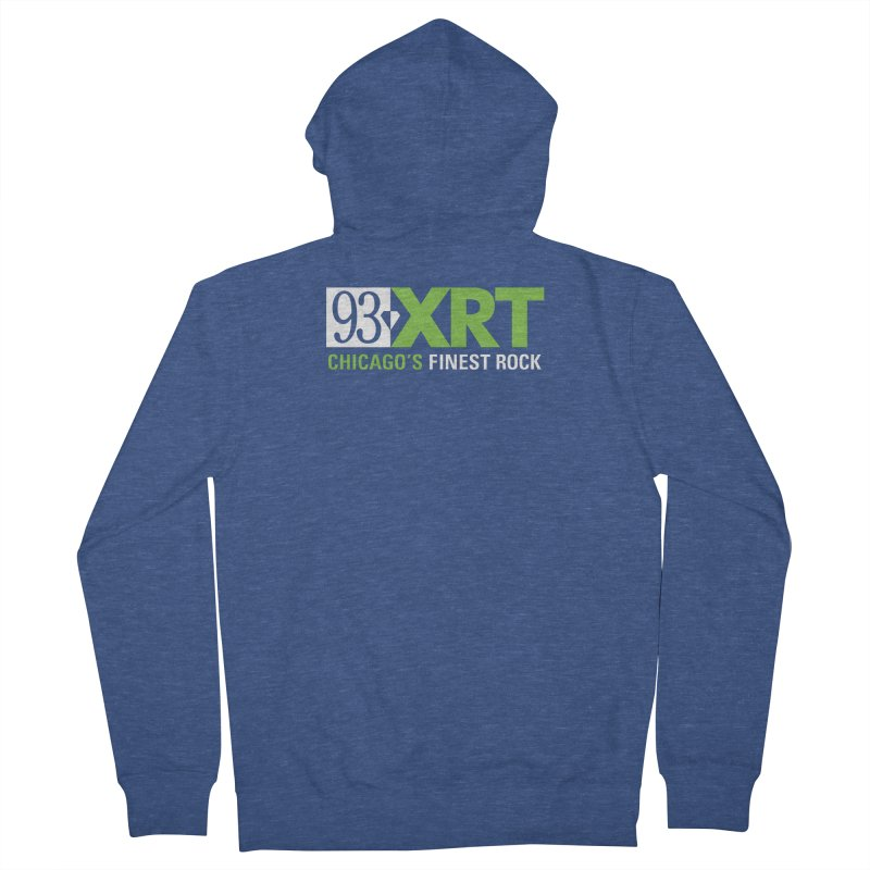 Chicago's Finest Rock Women's French Terry Zip-Up Hoody by 93XRT