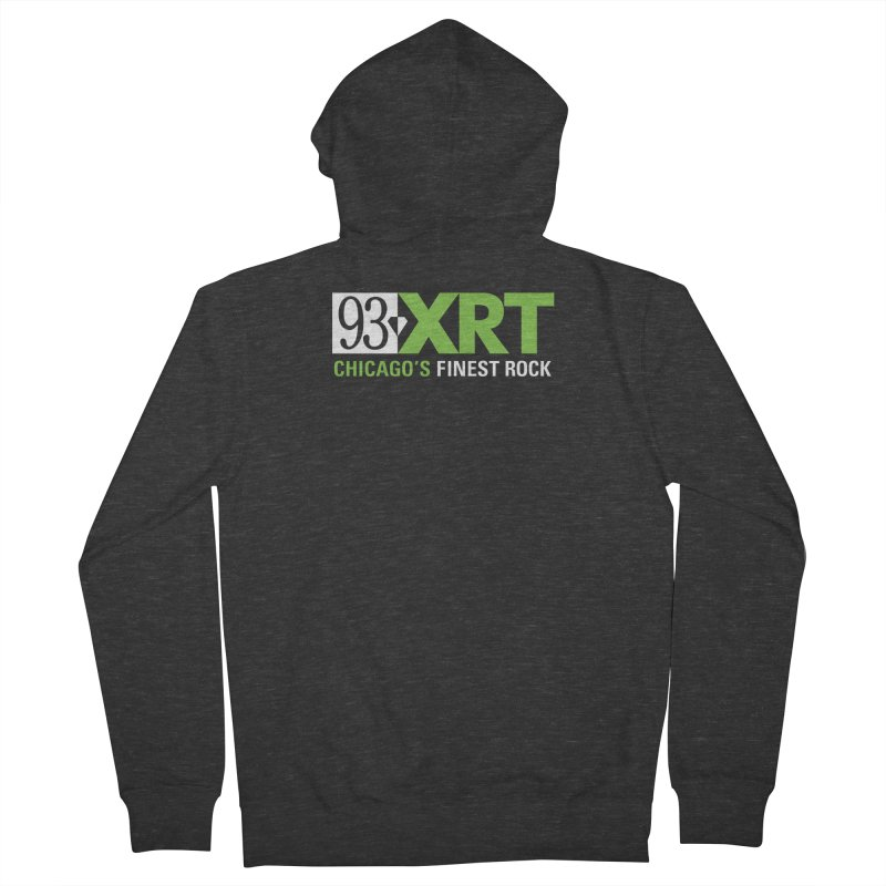Chicago's Finest Rock Men's French Terry Zip-Up Hoody by 93XRT