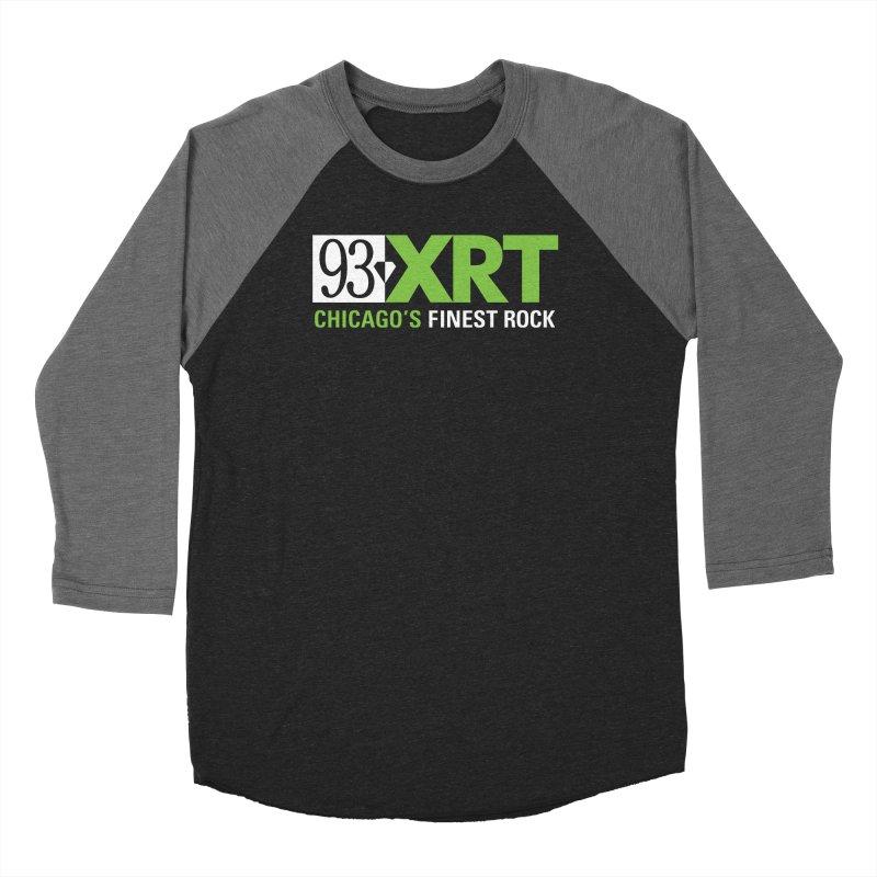 Chicago's Finest Rock Men's Baseball Triblend Longsleeve T-Shirt by 93XRT