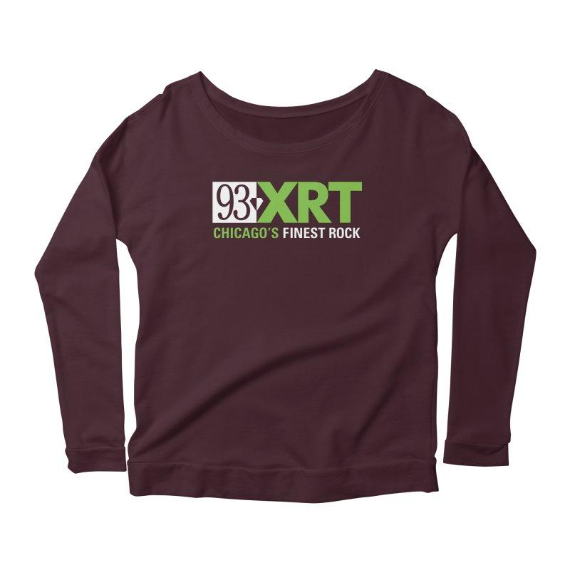 Chicago's Finest Rock Women's Scoop Neck Longsleeve T-Shirt by 93XRT