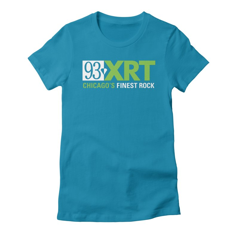 Chicago's Finest Rock Women's Fitted T-Shirt by 93XRT