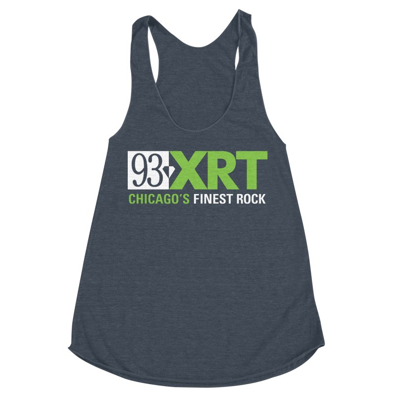 Chicago's Finest Rock Women's Racerback Triblend Tank by 93XRT