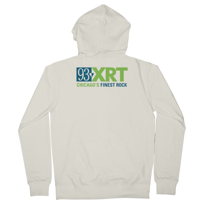 Chicago's Finest Rock Women's Zip-Up Hoody by 93XRT