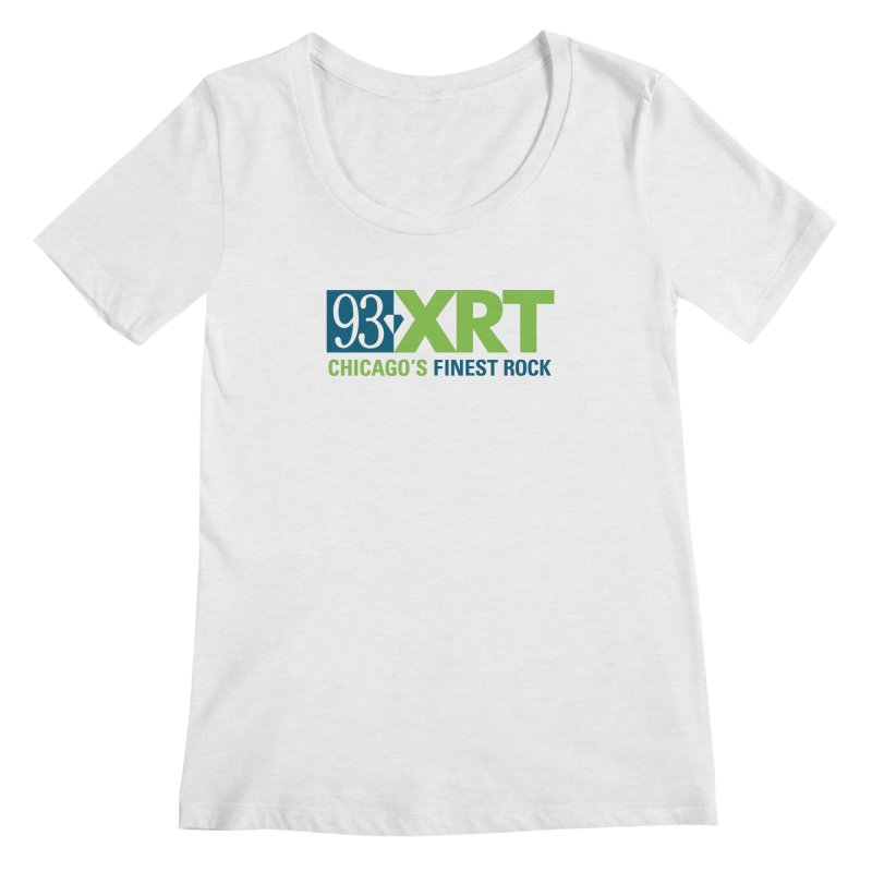 Chicago's Finest Rock Women's Regular Scoop Neck by 93XRT