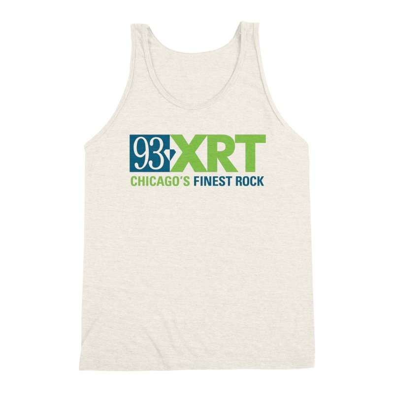 Chicago's Finest Rock Men's Triblend Tank by 93XRT