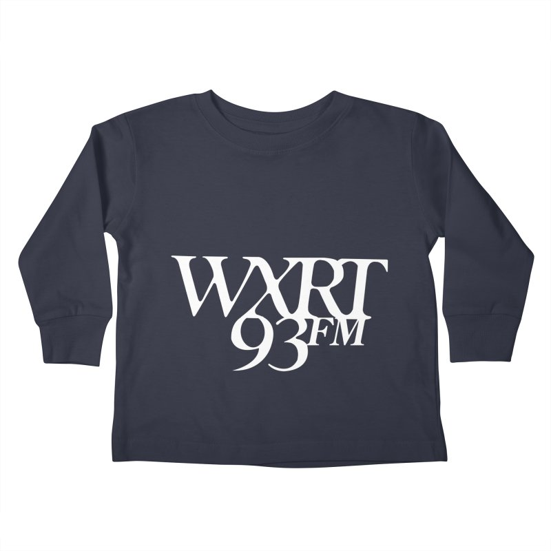 93FM Kids Toddler Longsleeve T-Shirt by WXRT's Artist Shop