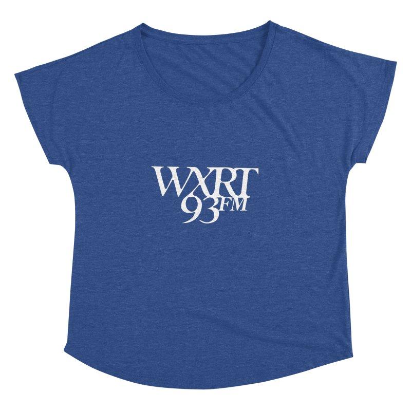 93FM Women's Dolman by WXRT's Artist Shop