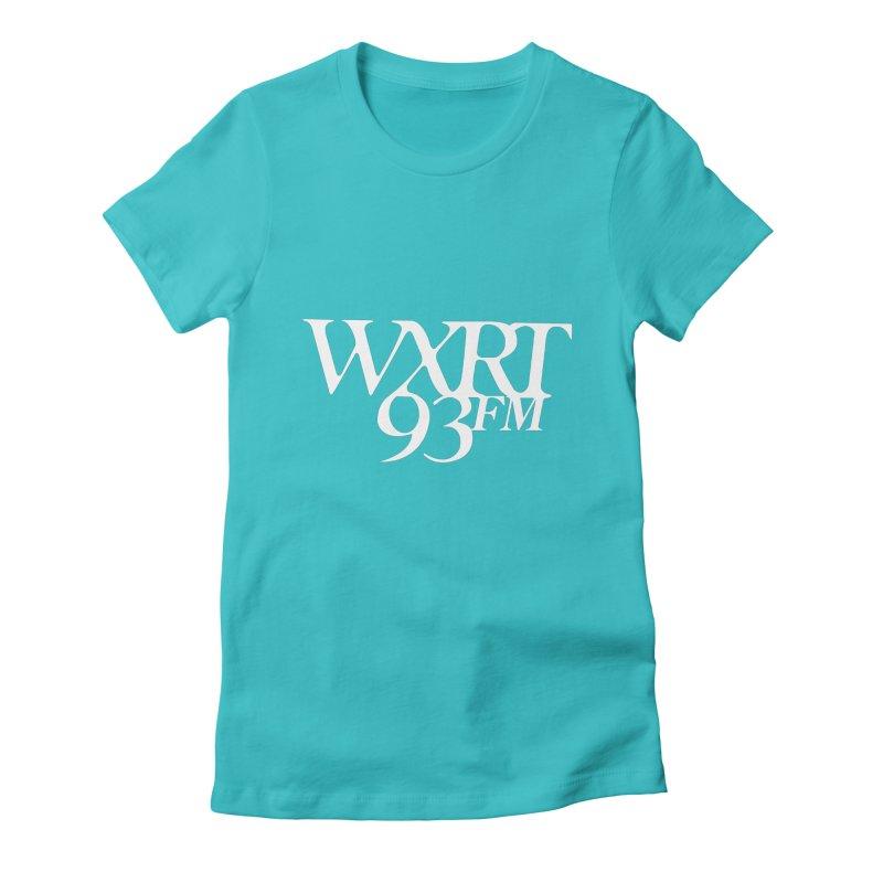 93FM Women's Fitted T-Shirt by WXRT's Artist Shop
