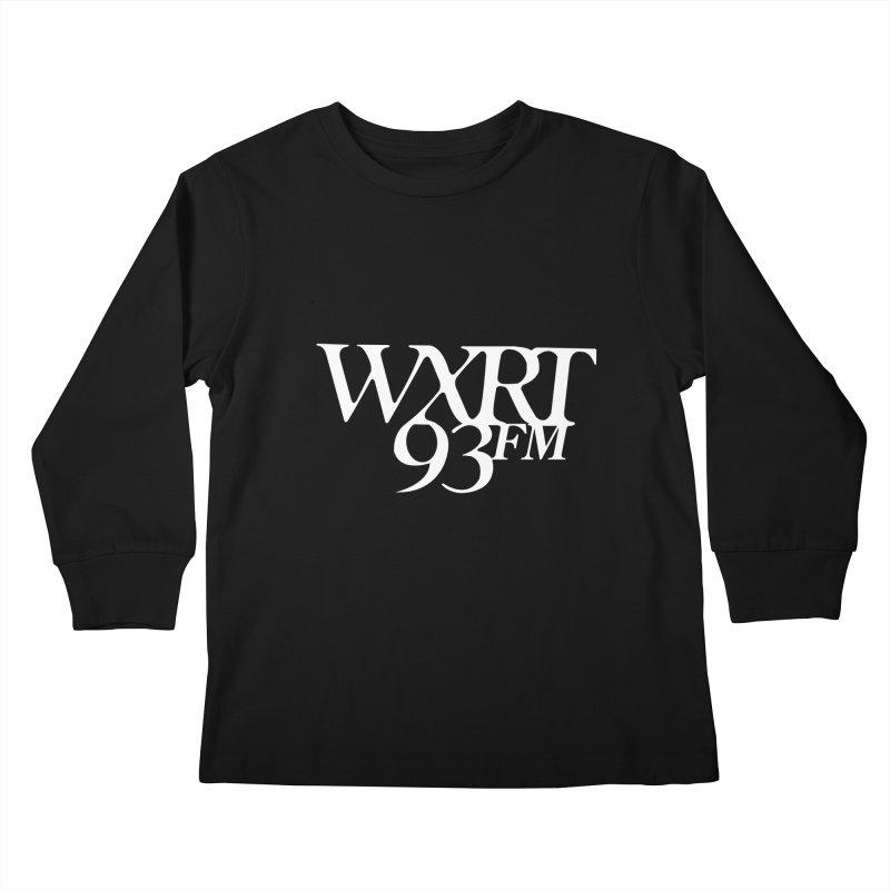 93FM Kids Longsleeve T-Shirt by WXRT's Artist Shop