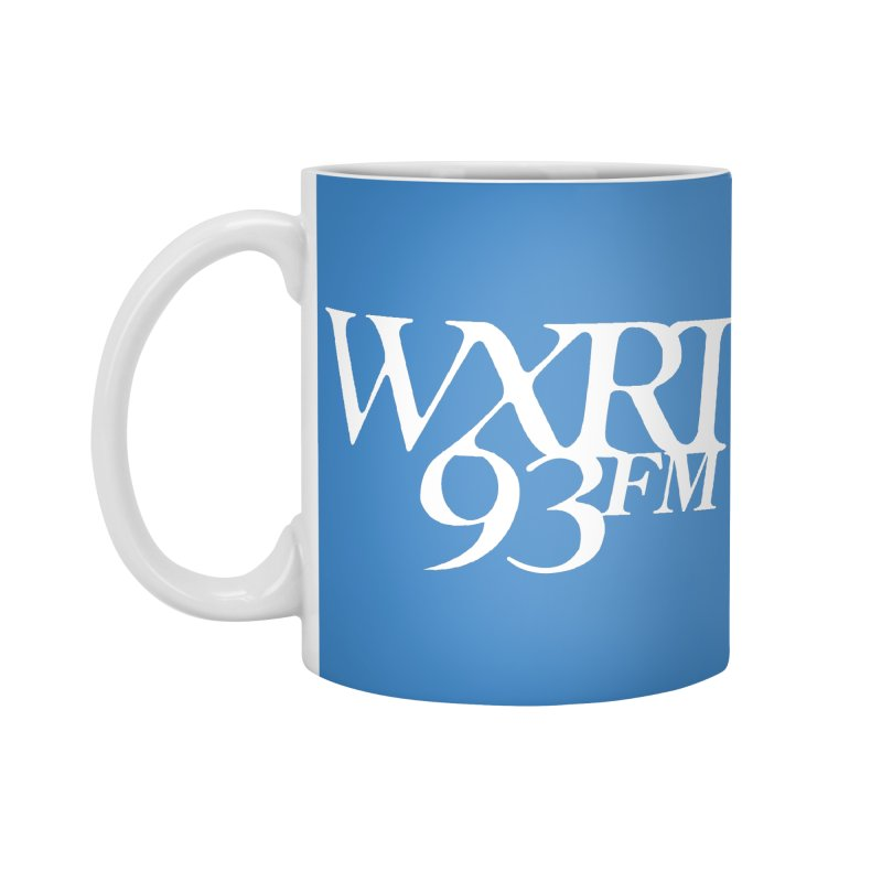 93FM Accessories Mug by WXRT's Artist Shop
