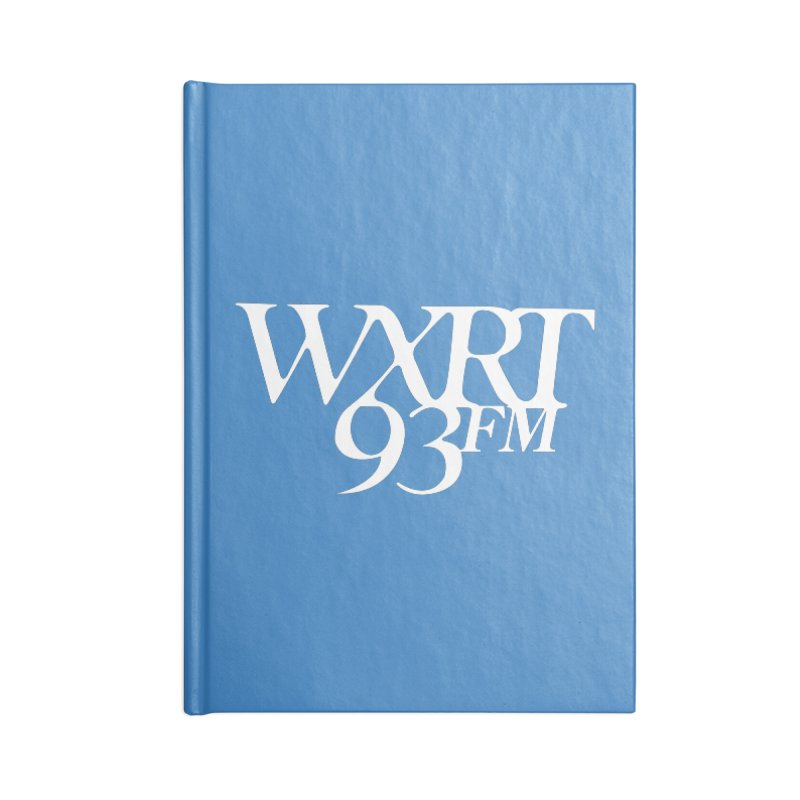 93FM Accessories Blank Journal Notebook by 93XRT