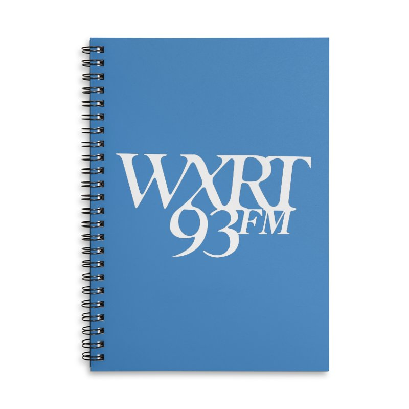 93FM Accessories Notebook by 93XRT