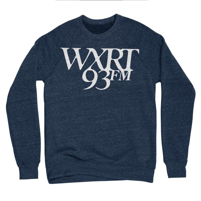 93FM Men's Sponge Fleece Sweatshirt by 93XRT