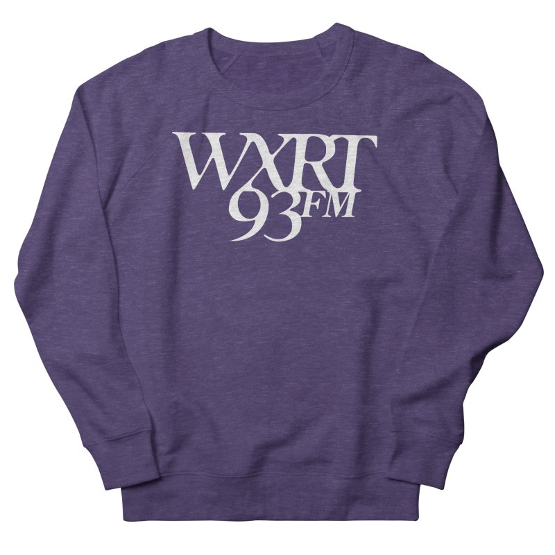 93FM Women's French Terry Sweatshirt by WXRT's Artist Shop