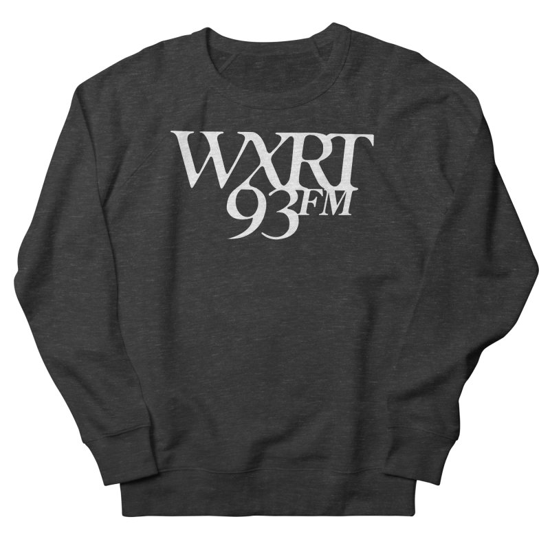 93FM Men's French Terry Sweatshirt by WXRT's Artist Shop