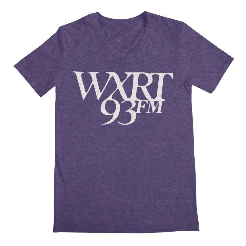 93FM Men's Regular V-Neck by 93XRT