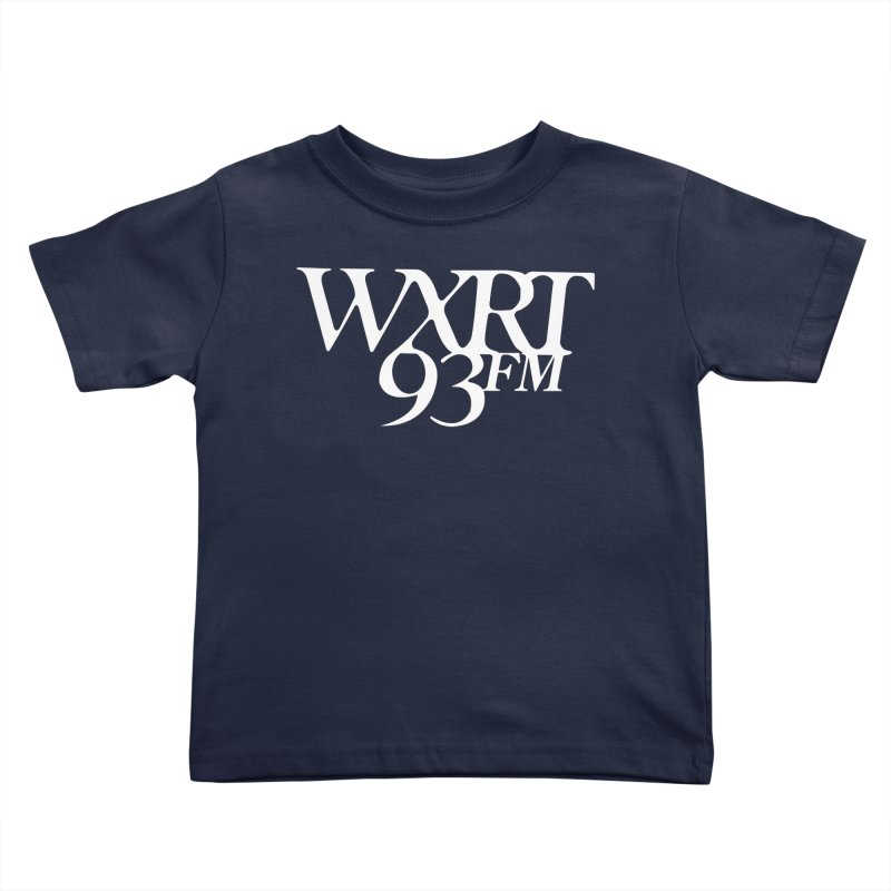 93FM Kids Toddler T-Shirt by WXRT's Artist Shop