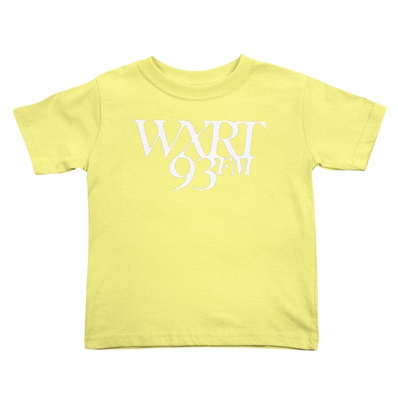93FM Kids Toddler T-Shirt by WXRT's Artist Shop