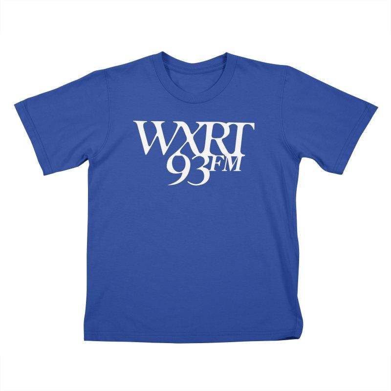 93FM Kids T-Shirt by WXRT's Artist Shop