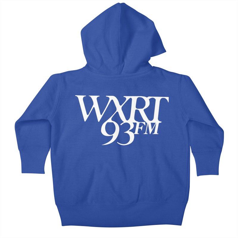 93FM Kids Baby Zip-Up Hoody by WXRT's Artist Shop