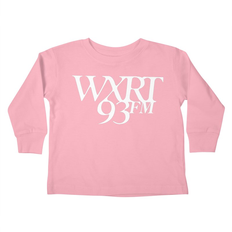 93FM Kids Toddler Longsleeve T-Shirt by 93XRT