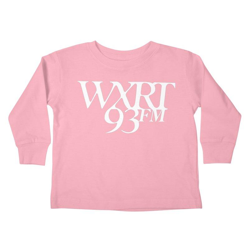 93FM Kids Toddler Longsleeve T-Shirt by WXRT's Artist Shop