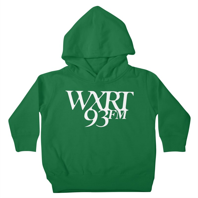 93FM Kids Toddler Pullover Hoody by WXRT's Artist Shop