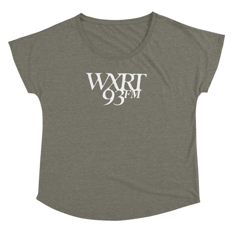 93FM Women's Dolman Scoop Neck by 93XRT