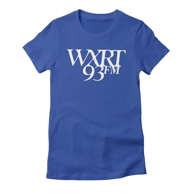 93FM Women's Fitted T-Shirt by 93XRT