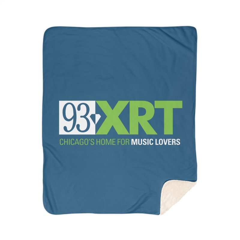 Chicago's Home for Music Lovers Home Sherpa Blanket Blanket by 93XRT