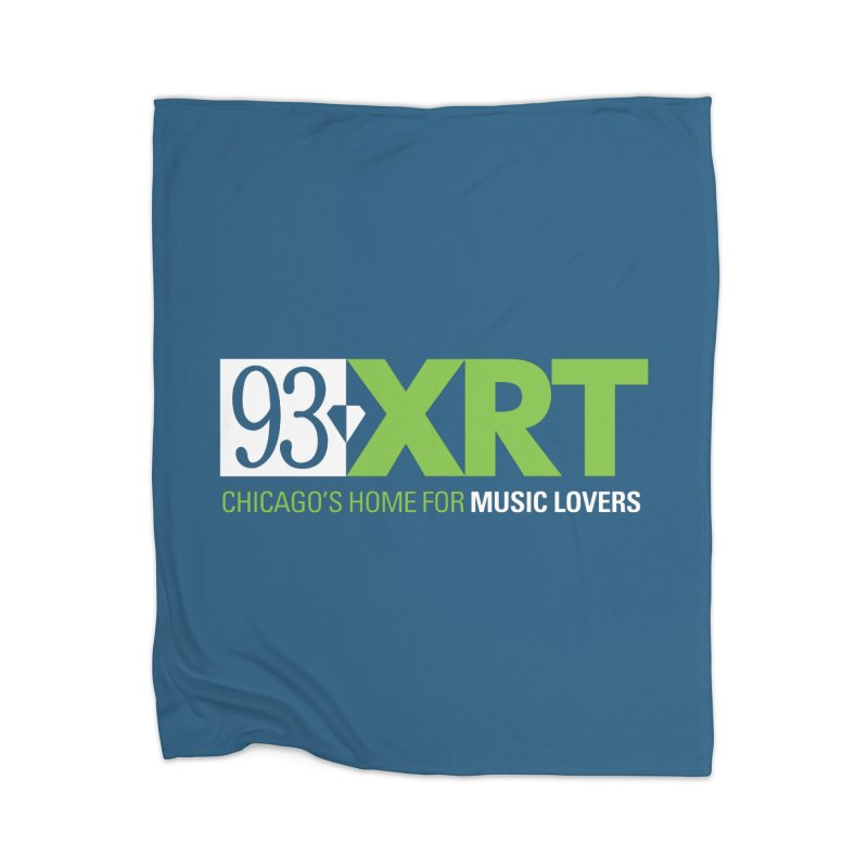 Chicago's Home for Music Lovers Home Blanket by 93XRT