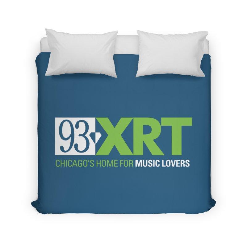 Chicago's Home for Music Lovers Home Duvet by WXRT's Artist Shop