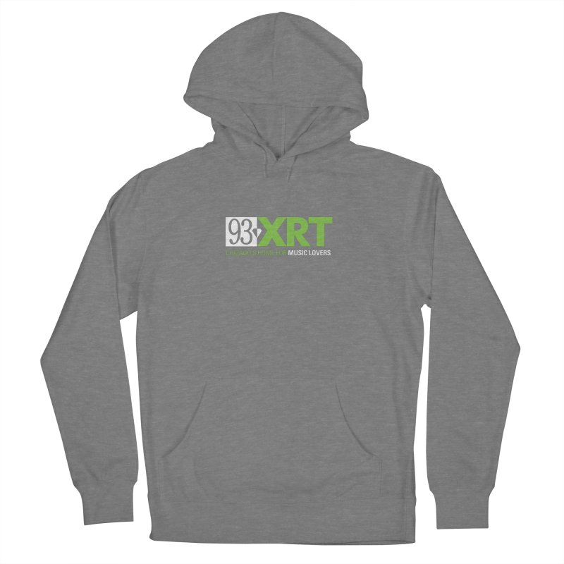 Chicago's Home for Music Lovers Men's French Terry Pullover Hoody by 93XRT