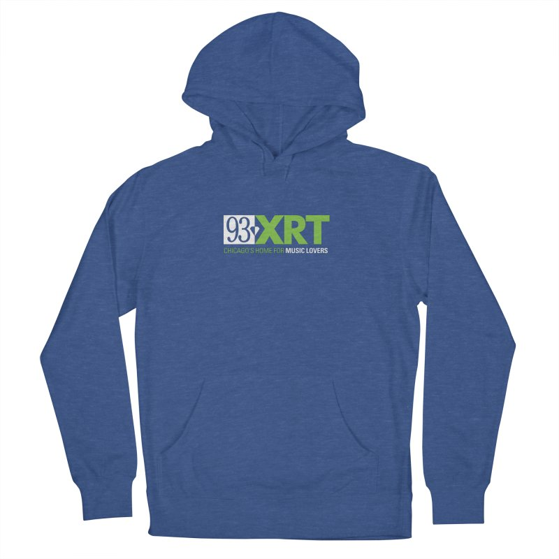 Chicago's Home for Music Lovers Men's Pullover Hoody by WXRT's Artist Shop