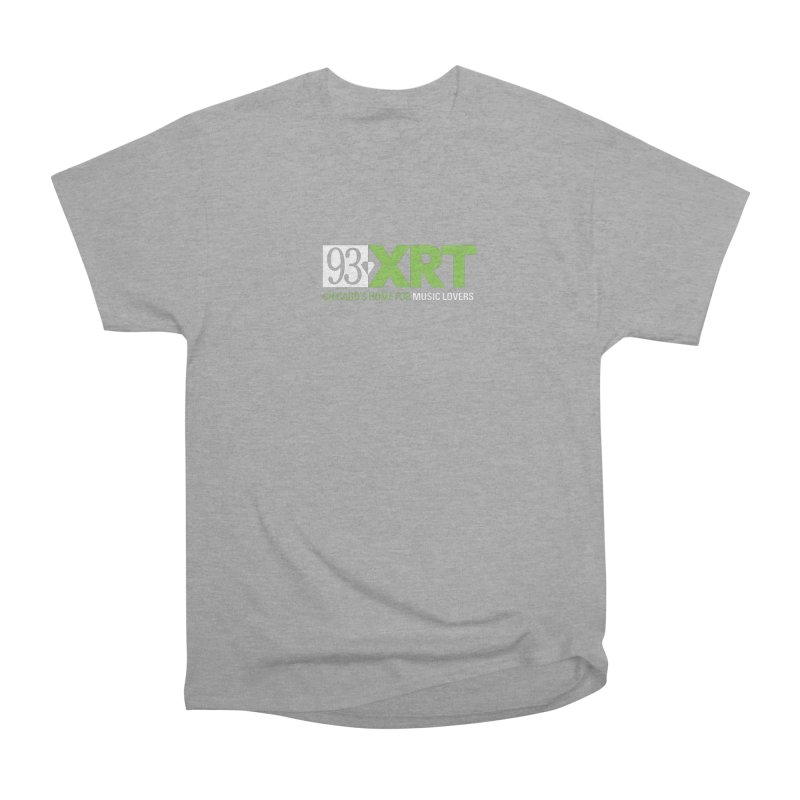 Chicago's Home for Music Lovers Women's Heavyweight Unisex T-Shirt by WXRT's Artist Shop