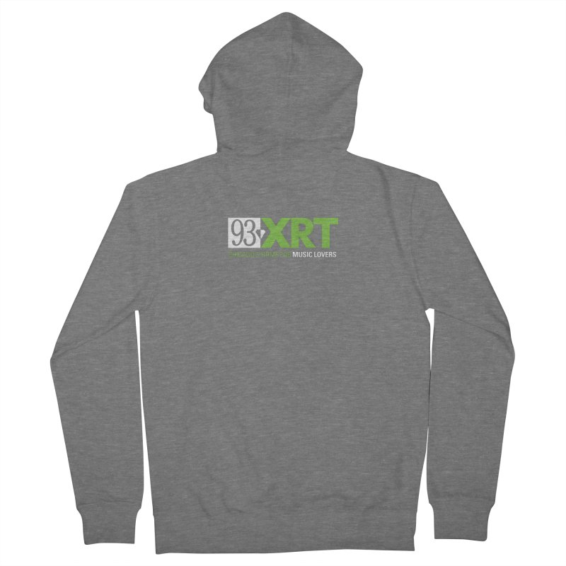 Chicago's Home for Music Lovers Women's Zip-Up Hoody by 93XRT